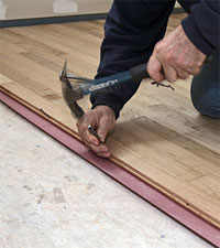 about naildown, gluedown and floating hardwood flooring installation.